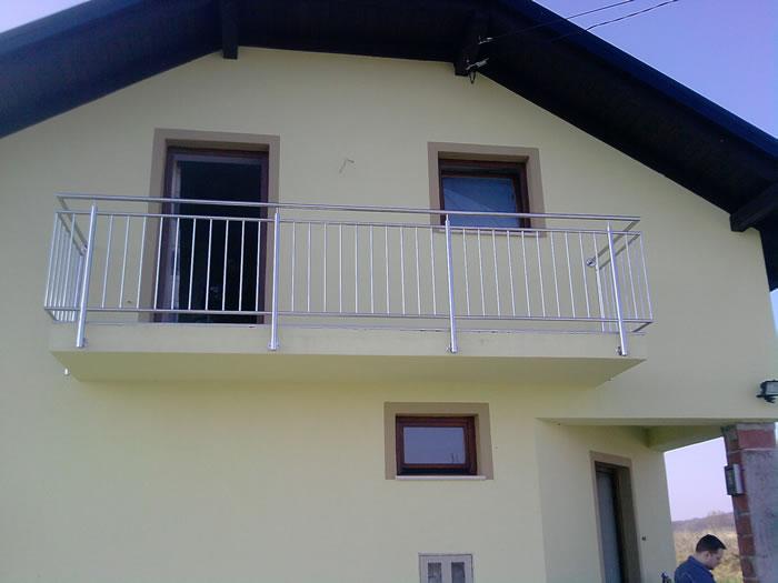 balkongel nder und br stungen aus edelstahl va nirosta aston inox. Black Bedroom Furniture Sets. Home Design Ideas
