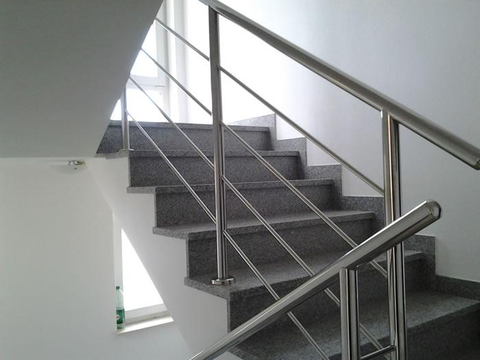 Stainless Steel Staircase Railings Aston Inox